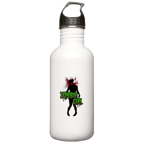 Zombie Girl Stainless Water Bottle 1.0L