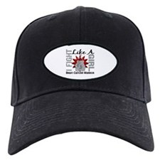 Fight Like A Girl Brain Cancer Baseball Hat
