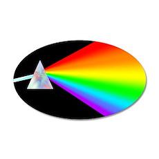 Rainbow Prism 22x14 Oval Wall Peel