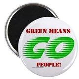 "Green Means Go 2.25"" Magnet (100 pack)"