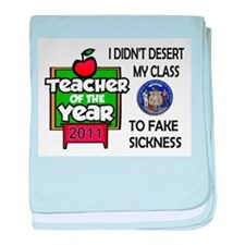 KIDS COME FIRST baby blanket