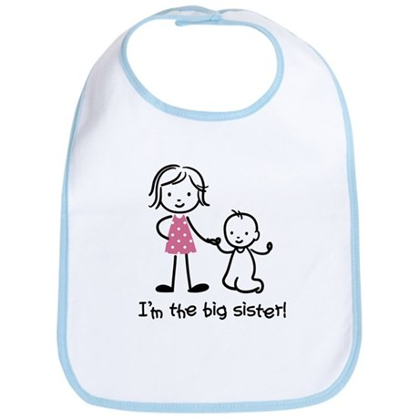 Big Sister - Stick People Bib