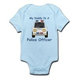 Daddy Is A Police Officer Infant Bodysuit
