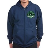 "Vail ""Colorado Green"" Zip Hoody"