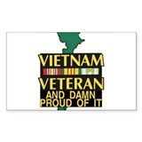 VIETNAM PROUD OF IT Decal