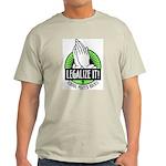 Legalize It Grey T-Shizzle