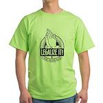 Legalize It Green T-Shizzle