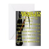 SENELITY PRAYER Greeting Card