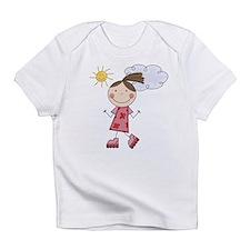 Girl Roller Skating Infant T-Shirt