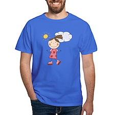 Girl Roller Skating T-Shirt