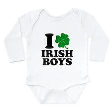 Irish Boys Long Sleeve Infant Bodysuit