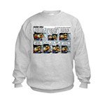 2L0046 - Tight landing strip Kids Sweatshirt