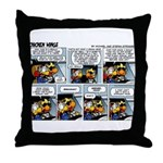 2L0046 - Tight landing strip Throw Pillow