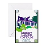 Sidney Lanier Cottage Greeting Cards (Pk of 20)
