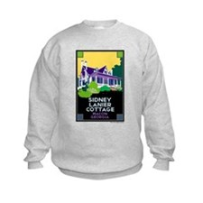 Sidney Lanier Cottage, Macon Sweatshirt