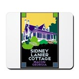 Sidney Lanier Cottage, Macon Mousepad