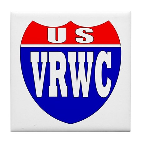 VRWC Interstate Tile Coaster
