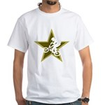 BMX Star White T-Shirt