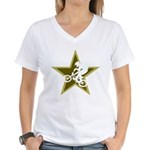 BMX Star Women's V-Neck T-Shirt