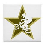 BMX Star Tile Coaster