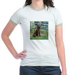 Bridge / Labrador (Choc) Jr. Ringer T-Shirt