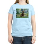 Bridge / Labrador (Choc) Women's Light T-Shirt