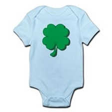 Lucky Four Leaf Clover Infant Bodysuit