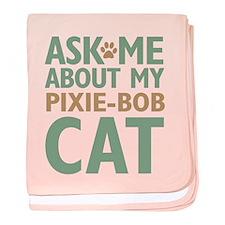 Pixie-Bob Cat baby blanket