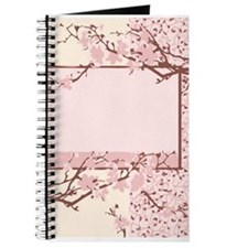 Pink Cherry Blossom Journal