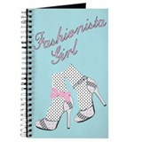 Fashionista Girl Journal