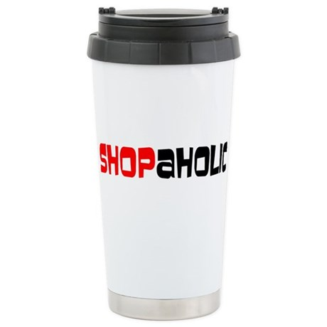 Shopaholic Ceramic Travel Mug