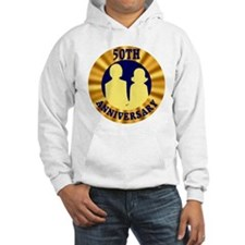 50th Wedding Anniversary Hoodie