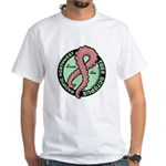 White Tentacle Ribbon T-Shirt