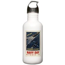 YOUR NAVY SPEARHEAD OF VICTOR Water Bottle