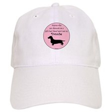 Girls Best Friend - Doxie Baseball Cap