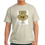 Sasquatch Militia Insignia Light T-Shirt