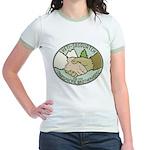 Yeti-Sasquatch Brotherhood Jr. Ringer T-Shirt