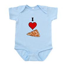 I heart Pizza Slice Infant Bodysuit