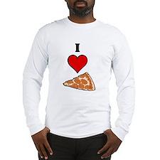 I heart Pizza Slice Long Sleeve T-Shirt