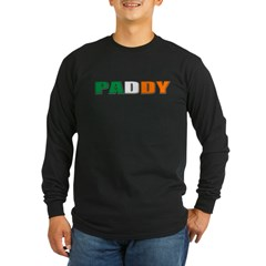 Paddy Long Sleeve Dark T-Shirt