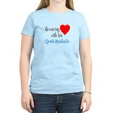 Won My Heart Greek Meatballs T-Shirt
