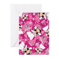 Cute Fairytale Princess Greeting Card (Pk of 10)