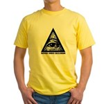 Pyramid Eye Yellow T-Shirt