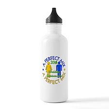 20th Wedding Anniversary Water Bottle