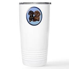 Dachshund Ceramic Travel Mug