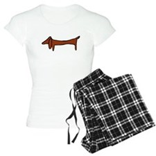 One Weiner Dog Pajamas