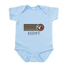 Egypt Pyramids of Giza Infant Bodysuit