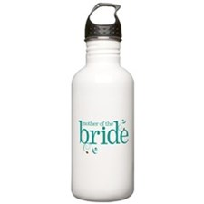 Mother of the Bride Swirl Water Bottle