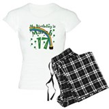 St. Patrick's Day March 17th Birthday pajamas