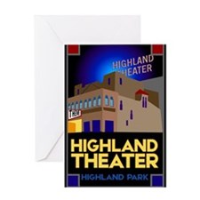Highland Theater Greeting Card